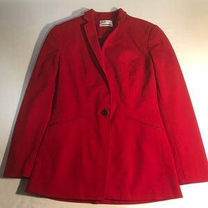 Marconi Women's Red Work Dress Jacket